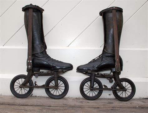 1896 Ritter Road Skates   The Online Bicycle Museum