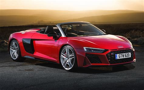 2019 Audi R8 Spyder Performance (UK) - Wallpapers and HD