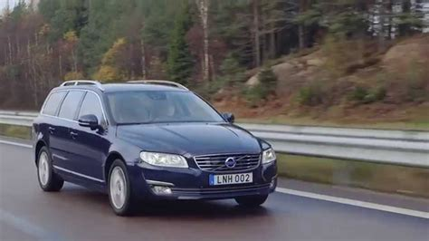 2015 Volvo V70 Exterior and Drive - YouTube