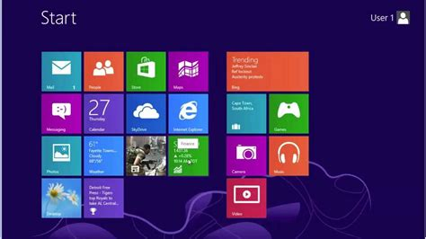 Introduction to Windows 8 Part I - YouTube