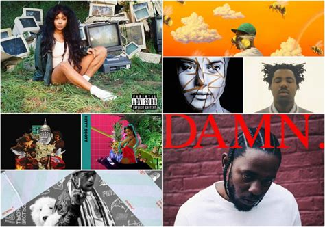 The 15 Best Hip-Hop And R&B Albums Of 2017 | The ARTery