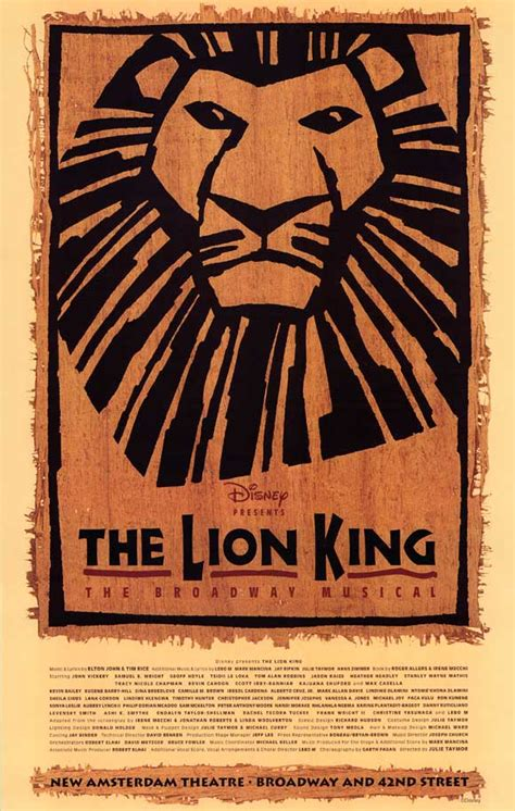 The Lion King (musical) | Disney Wiki | FANDOM powered by