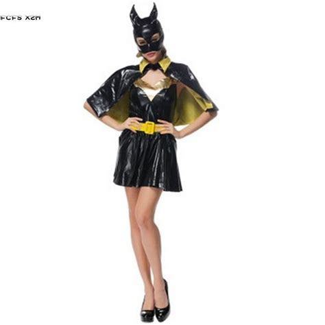 New sexy Halloween Batman Costumes for Woman Movie The