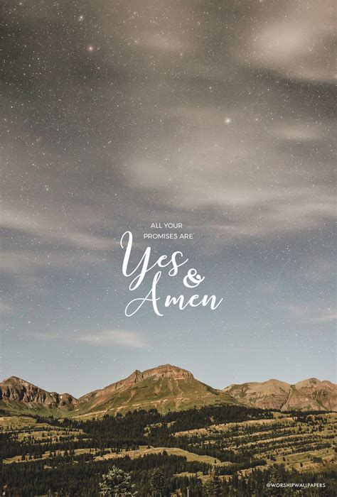 Yes and Amen // Housefires | WORSHIP WALLPAPERS