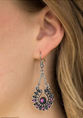 """NEW PAPARAZZI """"CANCUN CAN CAN"""" EARRINGS Orange, Red or"""