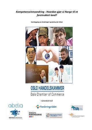 2013 2605 endelig rapport i pdf by Oslo Chamber of