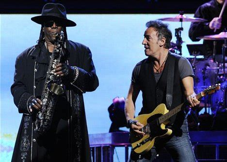 Bruce Springsteen's E Street Band saxophonist Clarence