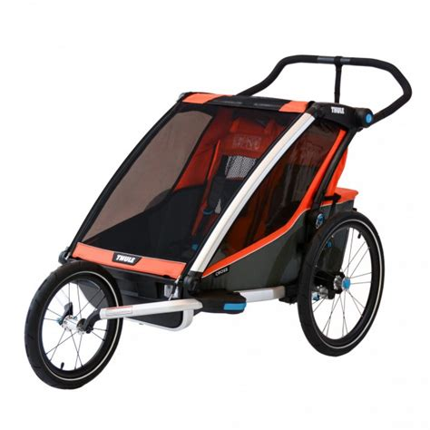 Thule Chariot Cross 2 with Jogging Kit Review   BabyGearLab