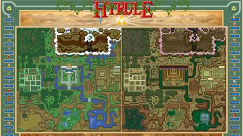 Hyrule from The Legend of Zelda: A Link to the Past