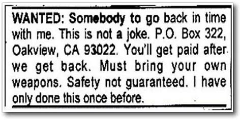 20 funniest personal ads of all time - mdolla