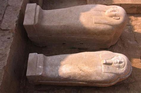 Two 26th dynasty tombs unearthed in Egypt containing