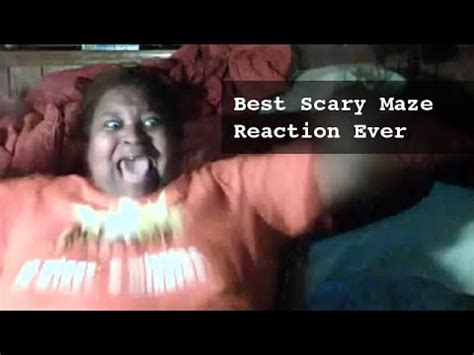 Best scary maze game reaction: A scary prank to mom