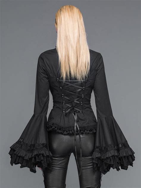 Romantic Victorian Palace Blouse Gothic Steampunk Clothing