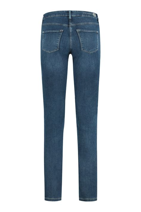 MAC Jeans Dream Skinny - Blue Authentic   Highleytall®