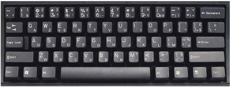 Luxembourg (French) Keyboard Labels - DSI Computer Keyboards