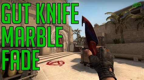 CS:GO Skins: Gut Knife Marble Fade (Factory new