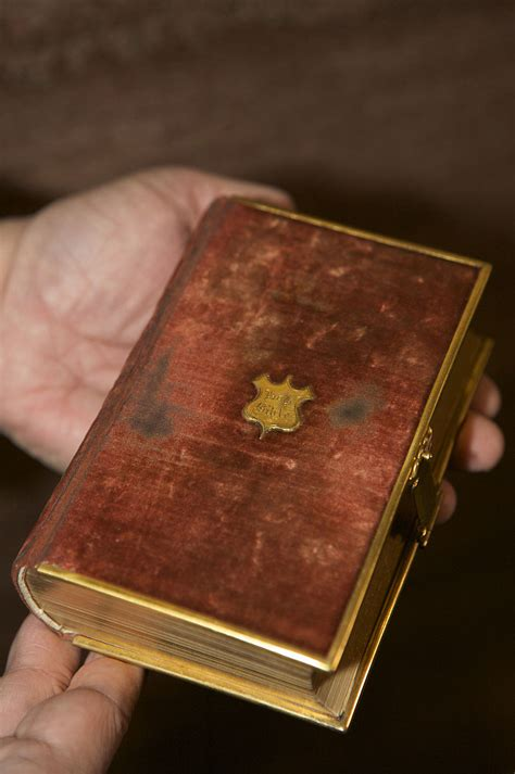 The Lincoln Bible | J
