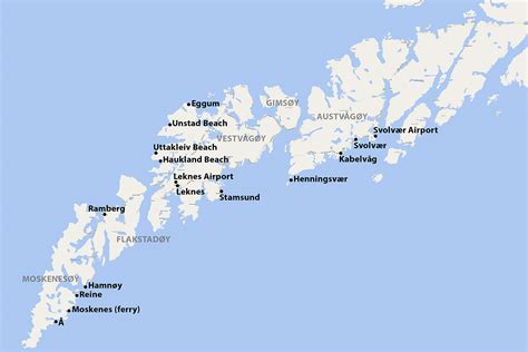 Getting around the Lofoten Islands by Car or Bus | 68 North