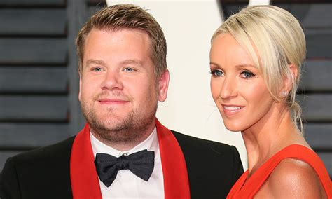 James Corden and wife Julia Carey are expecting their