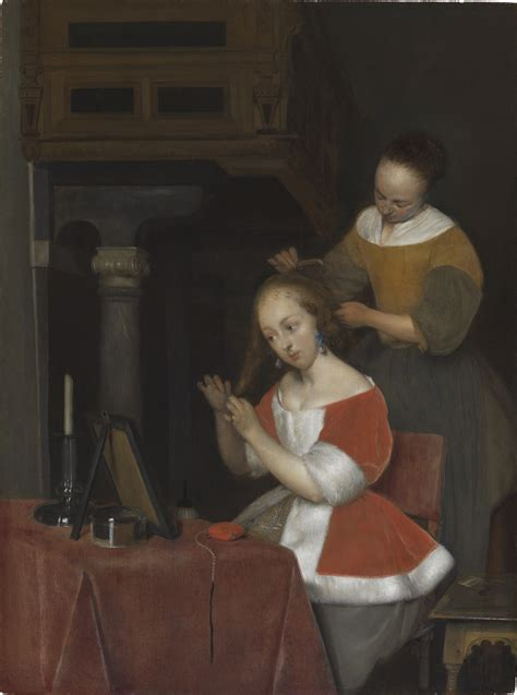 Woman Seated at Her Toilet - The Leiden Collection