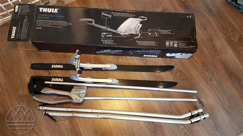 Thule Chariot Cross-Country Skiing Kit - Outdoortest