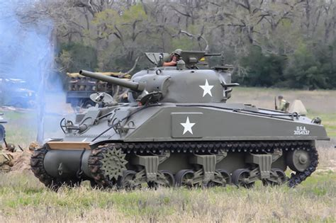 M4A3 Sherman (1942-1943) – Museum of the American G