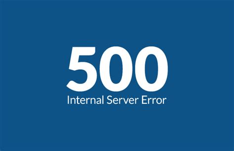 500 Internal Web Server Error- Causes and Solutions - W3