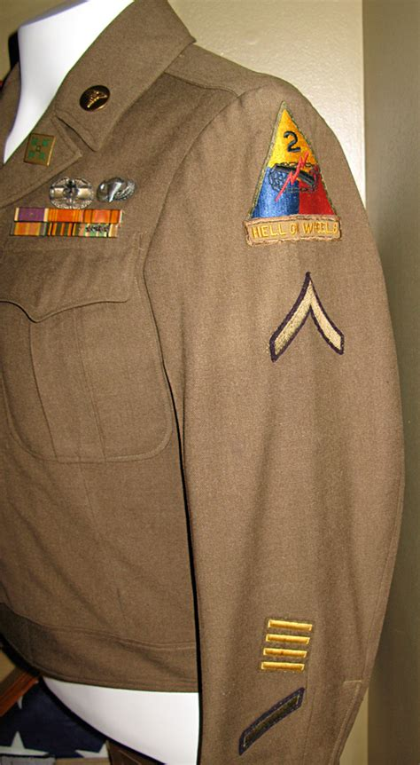 """Fully Decorated """"Hell on Wheels"""" Ike Jacket"""
