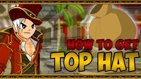 AQW - How to get Top Hat Item - YouTube