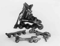 wackyboards: History of Inline Skates and Roller Skates