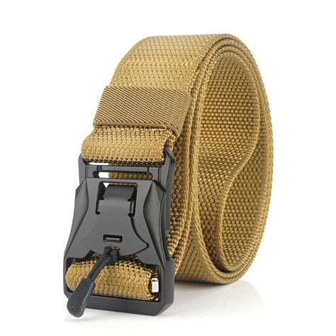 RECON Punch Free Magnetic cobra buckle BDU belt new
