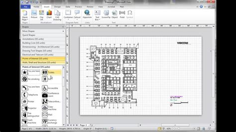 I need to make a Visio drawing with AutoCAD