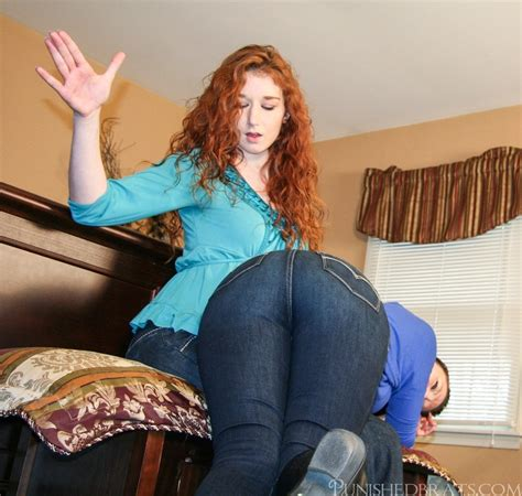 THe Contest: Audrey's Hand Spanking Part 1