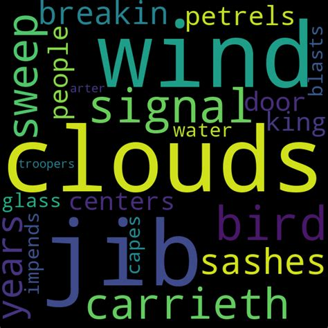26 Collocations for « storm