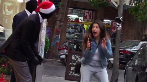 Mannequin Scare Prank 5 (Christmas Edition) - YouTube