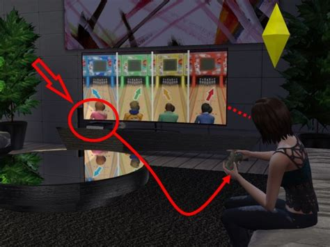 Mod The Sims: Playstation 4 Two Models by Hannes16 • Sims