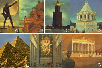 Seven Wonders of the World - by wonder authority Howard