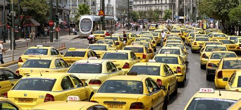 Taxi Fares in Athens - Normal charges and airport tariffs