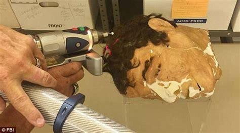 Dummy heads used during the Alcatraz breakout 3D scanned