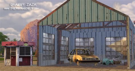 The Sims Models: Abandoned buildings by Granny Zaza • Sims