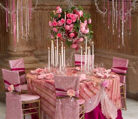 Shades of Pink / Wedding, Reception, Pink - Photo by