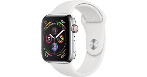 Apple Watch Series 4 Cellular 44mm Stainless Steel Case